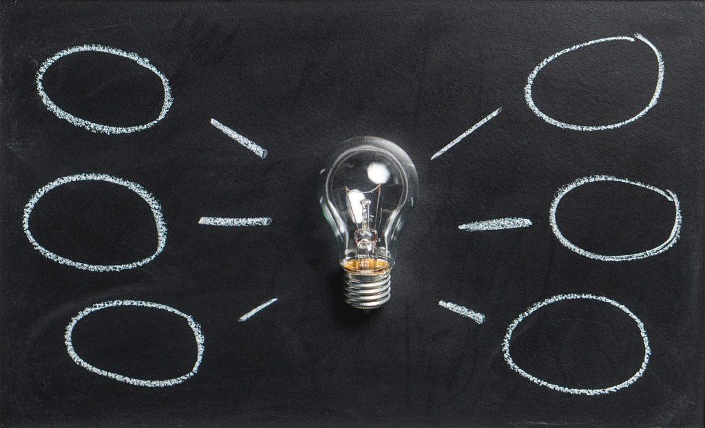 電球とアイデア